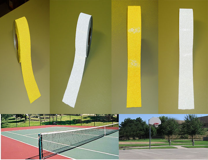 tennis court striping tape