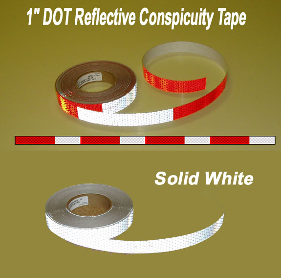 dot tractor trailer tape