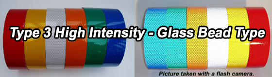 type III reflective tape