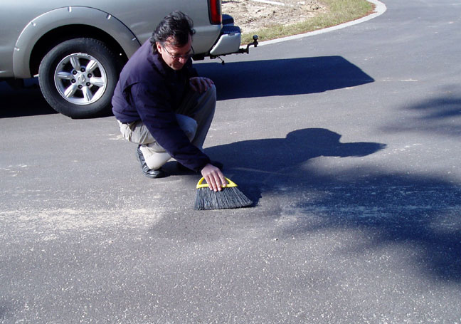raised pavement marker adhesive pads